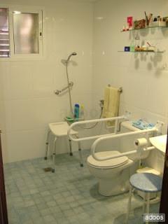 baños y pasillos