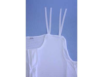 sábanas de sujeción con cintas hombros