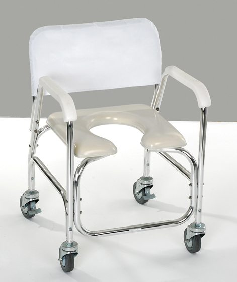 Silla para ducha y w c facilita la higiene ntima asister for Sillas para orinar ancianos