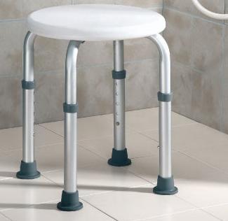 Asientos bancos taburetes y sillas para ducha asister for Taburete de ducha