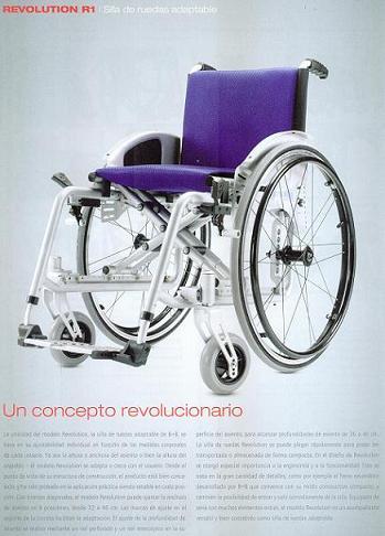 Silla de Ruedas Activa Revolution R1
