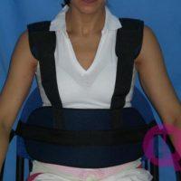 cinturón abdominal con tirantes