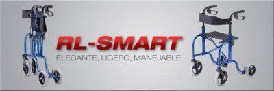Rollator RL-SMART B&B Iberia. Novedoso y brillante