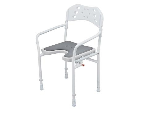 Silla de Ducha Plegable TOBAGO, Seguro y Estable
