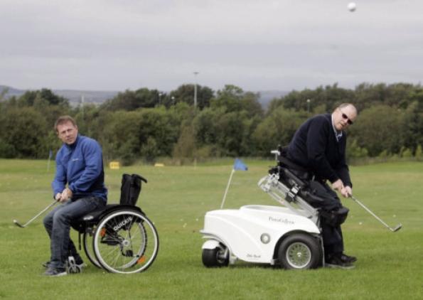Golf con S-ECO 300