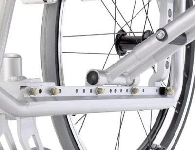 silla de ruedas activa Revolution 1 un modelo para todas las tallas