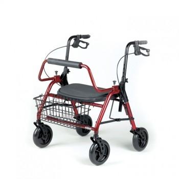 MAXI Rollator XL, Hasta 295 kg Plegable