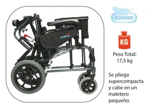 Silla de ruedas basculante de aluminio plegable vip asister - Sillas de ruedas de aluminio plegables ...