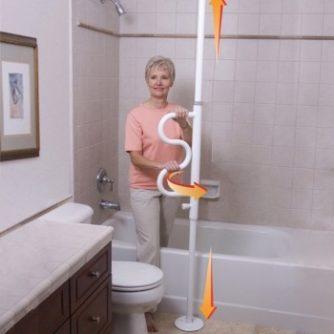 Columna Asidera Giratoria Para Incorporarse. Junto a la cama o en el baño.