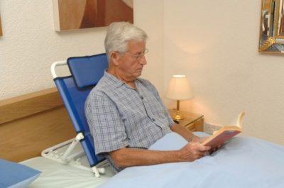respaldo para cama ajustable de acero - 2