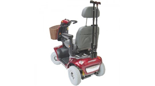soporte metálico para scooter