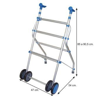3985-andador-de-aluminio-plegable-con-ruedas-regulable-en-altura-span-style-color-blue-producto-estrella-span-asister-ayuda-a-domicilio-y-ortopedia