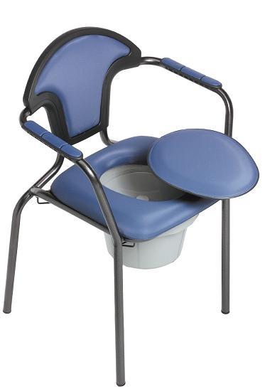 Baños Con Inodoro Azul:Sillas con Inodoro Incorporado » Silla con Inodoro Estándar, Azul