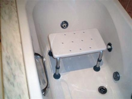 banqueta de baño