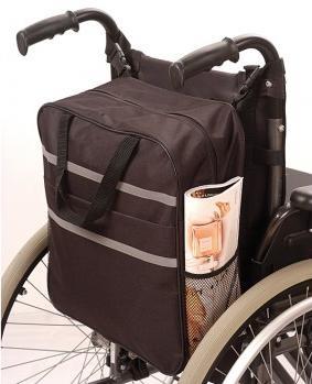 bolsa auxiliar impermeable silla de ruedas