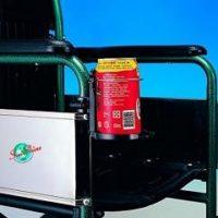 soporte para bebidas, botella y vasos para silla de ruedas