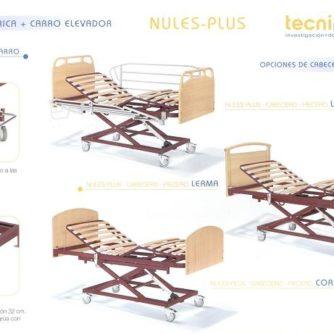1. Cama eléctrica Nules Plus