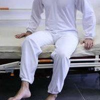 pijama largo con cremallera