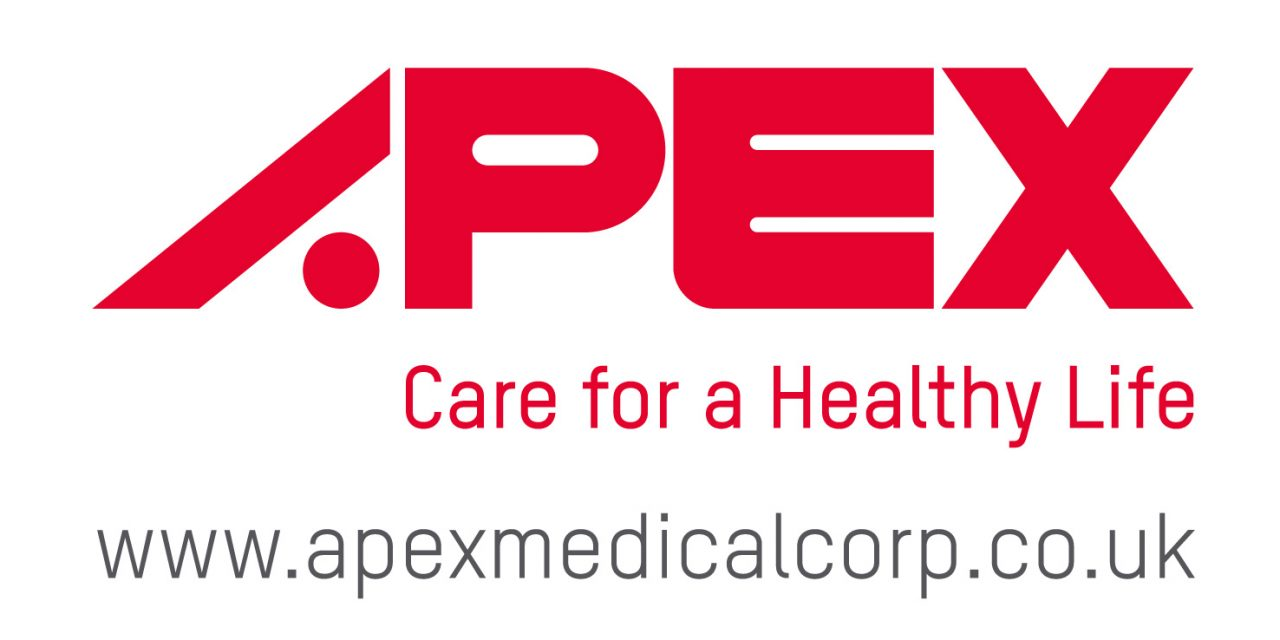 logotipo apex medical