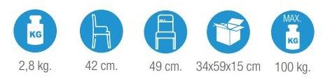 medidas banqueta de ducha