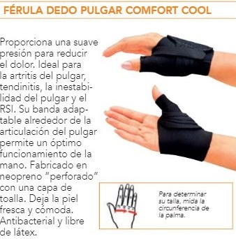 Muñequera Confort Cool