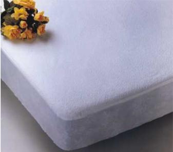 protector y funda ajustable poliuretano/rizo