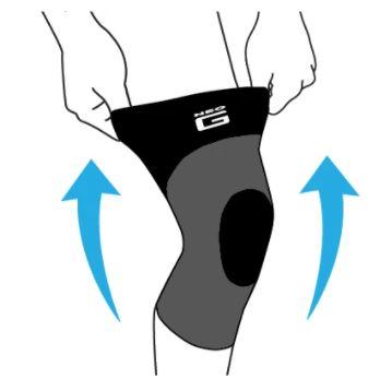 Sopoerte para la rodilla AIRFLOW