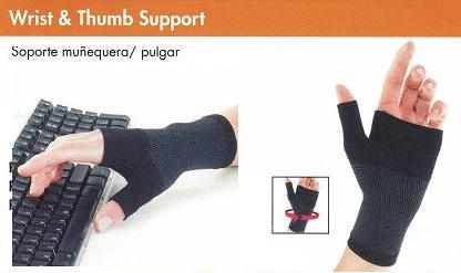 soporte muñeca y pulgar