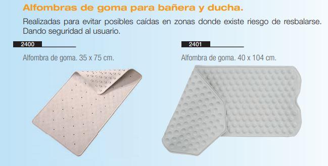 Alfombras De Goma Para Bañera y Ducha