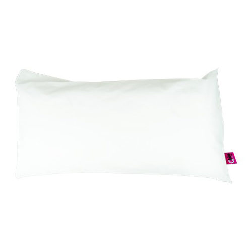almohada terlenka blanca para el cuello
