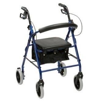 Andador Ligero De Aluminio Altura Ajustable