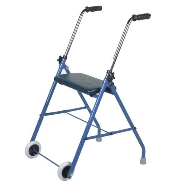 andador plegable con asiento