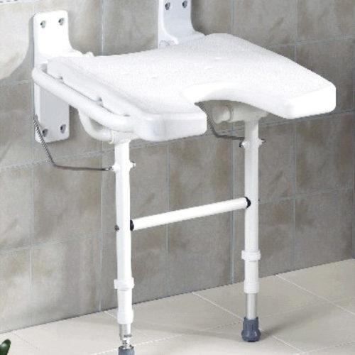asiento para ducha plegable