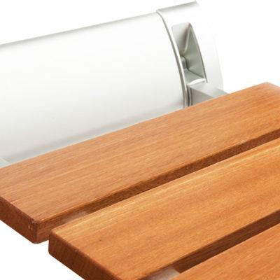 Asientos bancos taburetes y sillas para ducha asister for Asiento plegable ducha