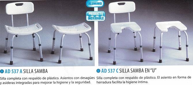 silla con asiento SAMBA