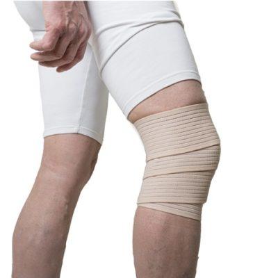 vendaje elástico para rodilla
