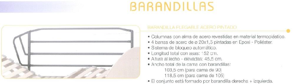 Barandilla Plegable