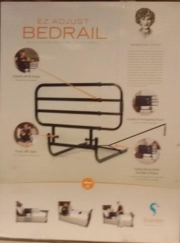 Barrera de seguridad para cama PIVOT RAIL