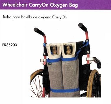 Bolsa para Botellas Oxígeno