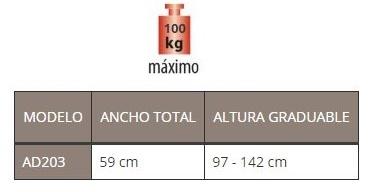 medidas caminador atlas