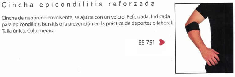 Brazalete Epicondilitis Neopreno Reforzada