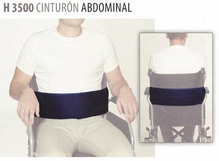 Correa de seguridad abdominal para silla