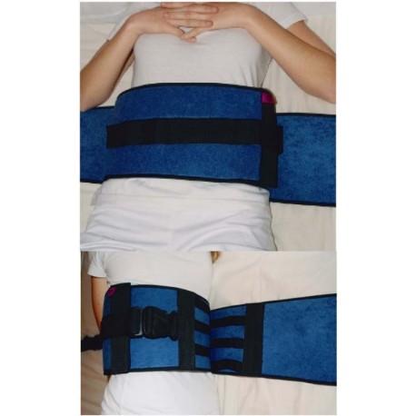 cinturón abdominal acolchado