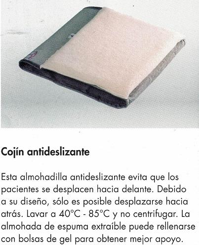 cojín antideslizante