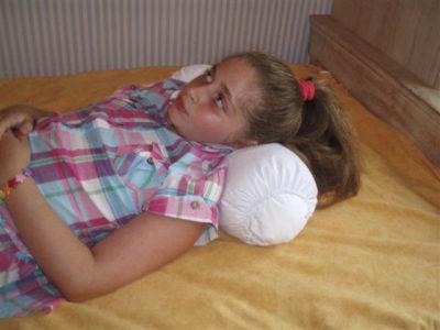 almohada cilíndrica