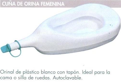 Cu a de orina femenina ideal para la cama o silla de - Hacerse pis en la cama ...