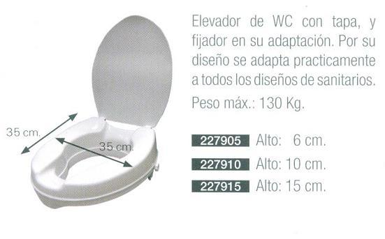 Elevador wc se adapta a todos practicamente asister for Medidas de sanitarios