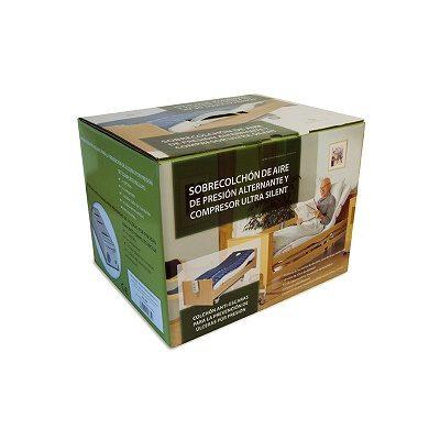 embalaje colchón dinámico antiescaras