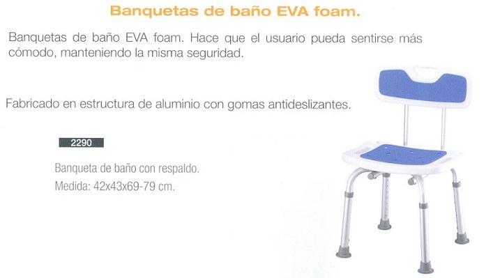Banquetas de Baño EVA Foam