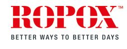 logotipo Ropox